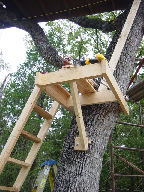 Markism Net Treehouse 1 Entrance